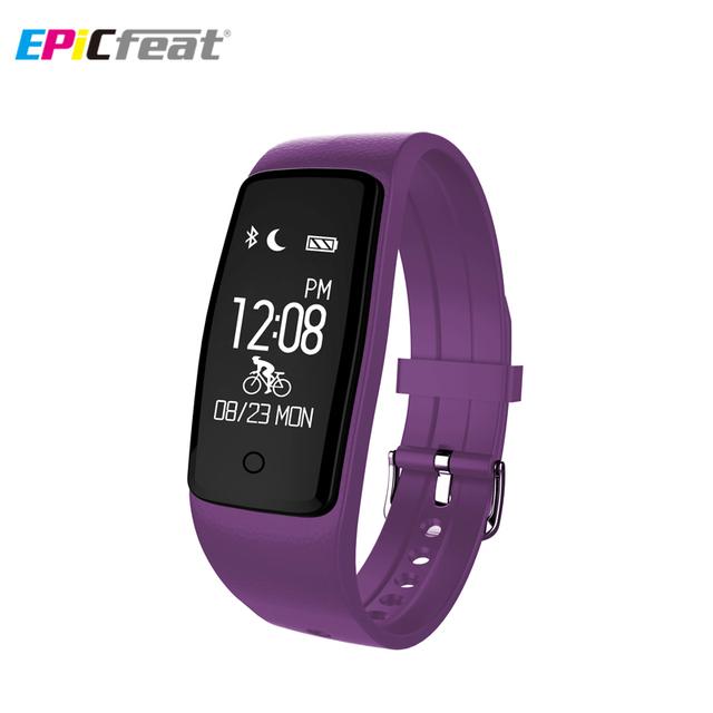 S1 Sport GPS Freqüência Cardíaca aptidão Inteligente Pulseira Pedômetro Calorie aptidão Sono Rastreador de Pulso Inteligente