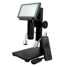 HDMI/AV kính hiển vi dài đối tượng khoảng cách kỹ thuật số USB kính hiển vi cho điện thoại di động sửa chữa điện thoại công cụ hàn bga smt đồng hồ