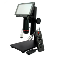 HDMI/AV microscopio lunga distanza delloggetto microscopio digitale USB per il telefono mobile di riparazione strumento di saldatura bga smt orologio