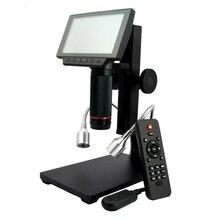Microscope numérique USB HDMI/AV pour réparation des téléphones portables, outil de soudage, montre bga smt