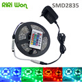 RiRi  Won 20M 15M 10M 5M 12V 2835  Flexible RGB 3528 SMD LED Strip waterproof Diode RGB Ribbon Tape IP65  LED Strip Light