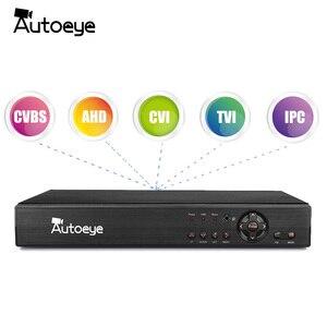 Image 2 - Autoeye 16CH 5in1 CCTV 1080N DVR NVR H.264 نظام الأمن الهجين مسجل فيديو P2P 1080P CVBS TVI CVI IP كاميرا ahd Onvif