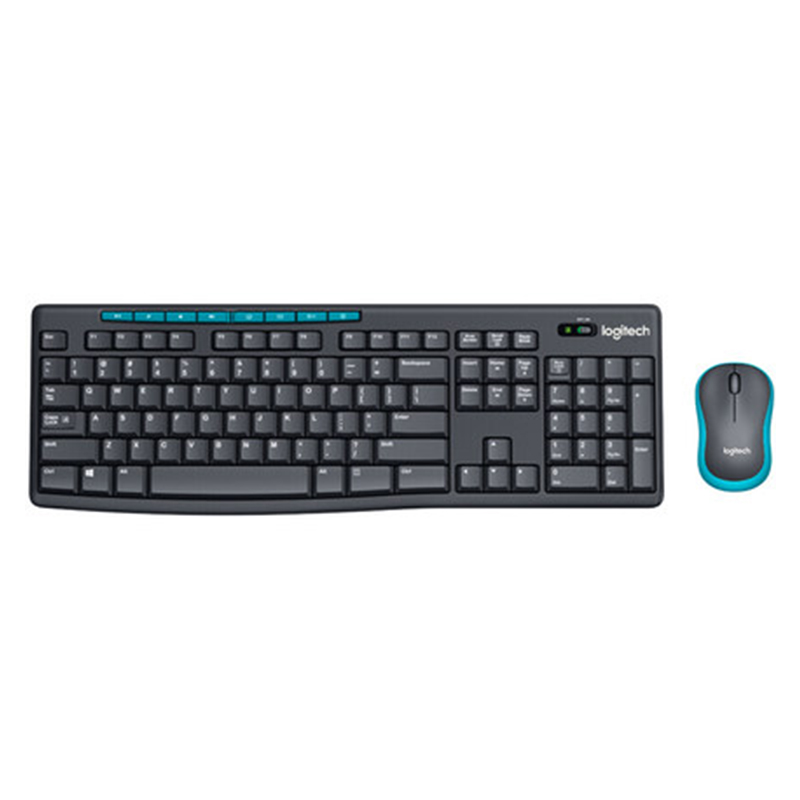 Logitech MK275 Wireless Mouse and Keyboard Combo Gaming Laptop PC Gamer Original Mini Receiver Ergonomics Keyboard Mouse Set
