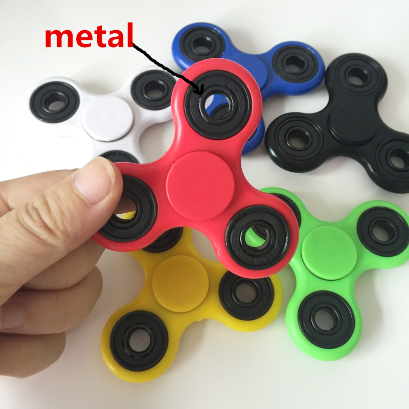 Fidget Spinner Finger ABS EDC Hand Spinner Tri For Kids Autism ADHD 8 Styles Anxiety Stress