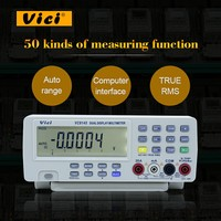 Цифровой мультиметр Vici VC8145 DHL/EMS корабль 1 шт. DMM Температура метр тестер PC аналоговые 80000 отсчетов аналоговой гистограмма