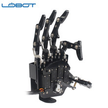 Original lobot uhand2.0 diy rc robô braço independente dedos & LFD-01 Anti0-block servos(China)