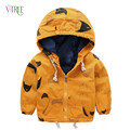 Vtree Children Jcaket Baby Boys Jacket Hoodies cute fish print coat outwear for boy kids spring autumn clothes tops baby toddler