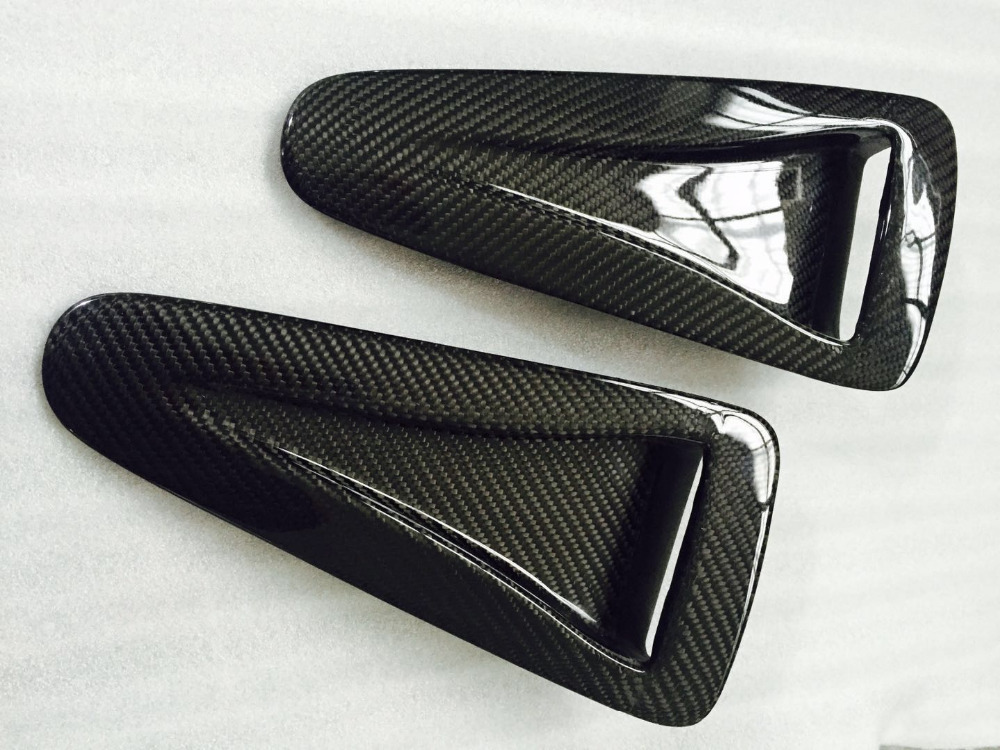 BV1R Gift Idea RED Power Vents Bonnet Side Wing fits TOYOTA