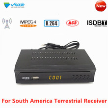 South America FTA ISDB-T HD TV Tuner Receiver H.264 Digital Terrestrial Receptor Set-Top Box Support Dolby AC3 For Brazil Peru