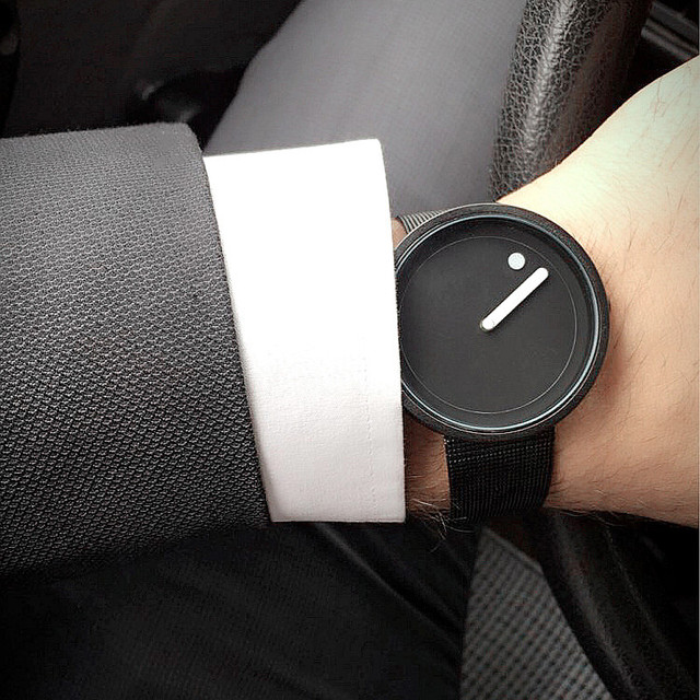 Creative design Dot and Line simple stylish fashion watch for men and women 5