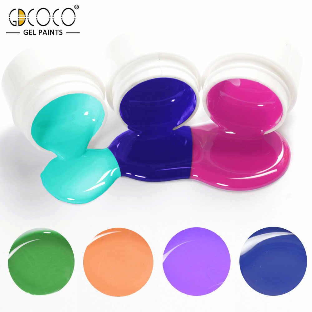 #86153 GDCOCO Venalisa ציור ג 'ל משרים כבוי UV LED 5 ml טהור צבע ג' ל 36 צבעים ג 'ל לכה Canni מפעל טהור ג 'ל לק