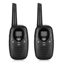 2pcs Children Walkie Talkies XF - 508 Baby Monitor 2-Way Radio 8 Channels 3KM Range Belt Clip With Adjustable Volume