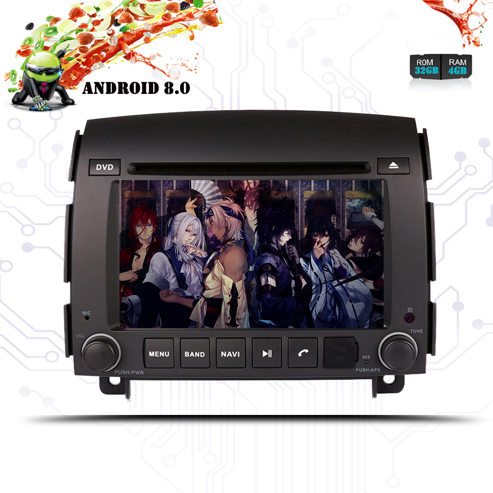 Levering 8 Octa Android8 Auto Gps Navigatie Dvd-speler Voor Hyundai Sonata Nf Yu Xiang 06-18 Stereo Auto Navi Autostereo Multimedia Unit