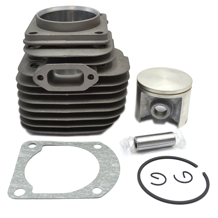 50MM Cylinder Piston Gasket Kit Fits HUSQVARNA 268 268K OEM # 503 61 10 71 38mm engine housing cylinder piston crankcase kit fit husqvarna 137 142 chaisnaw
