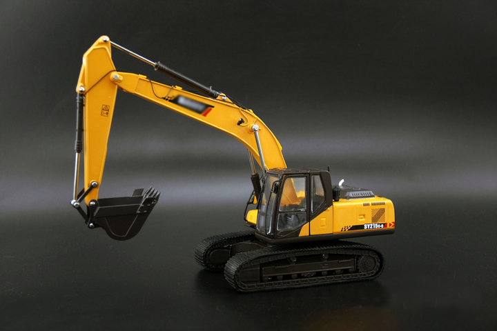Original factory 1:35  Model alloy construction machinery for SY 215C-9 excavator  Collection modelOriginal factory 1:35  Model alloy construction machinery for SY 215C-9 excavator  Collection model