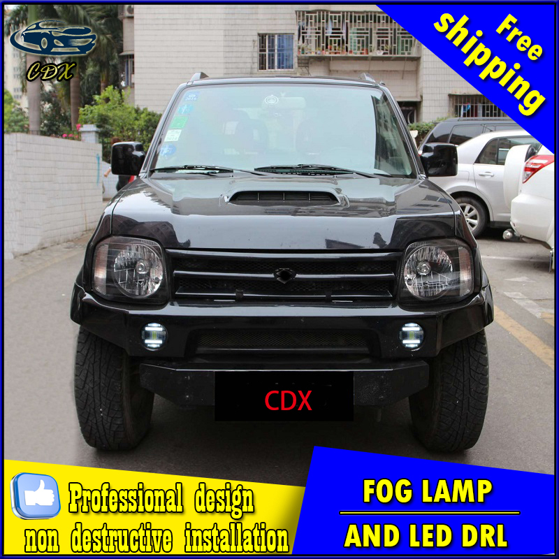 Car-styling LED fog light for Suzuki Alto 2009-2015 LED Fog lamp with lens and LED day time running ligh for car accessories 1 piece car sticker styling waterproof 4d led el cold light badge logo emblem lamp for suzuki swift alto