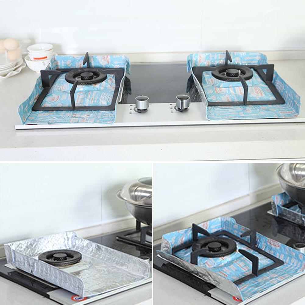 2 PCS Kitchen Gas Stove Aluminum Foil Anti oil Pad Baffle  : 2 PCS Kitchen Gas Stove Aluminum Foil Anti oil Pad Baffle Plate Protection Pad Insulation Pads from www.aliexpress.com size 1001 x 1001 jpeg 103kB