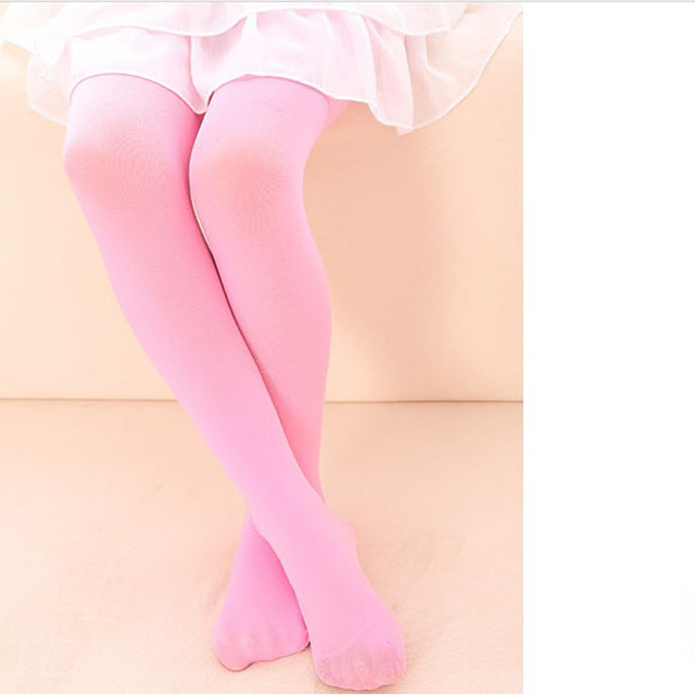 6ab835c853a14 hot sale new Girls Kids Tights Pantyhose Hosiery Stockings Opaque Ballet  Candy Color