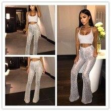 FREE SHIPPING !! High Elastic Waist Female Sot Summer Wear Casual Gliters Trousers JKP1008