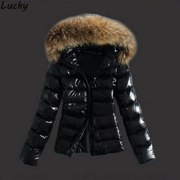 Womens Winter Coats Jackets Women Parkas Thick Warm Coat Faux Fur Collar Hooded Down Female Coat Ladies Jacket Manteau Femme