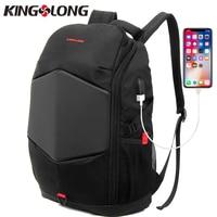 KINGSLONG Multifunction Rain cover USB charging Men 15 Laptop Backpack Teenager Mochila Leisure Travel Bag Anti Thief KLB1549 5