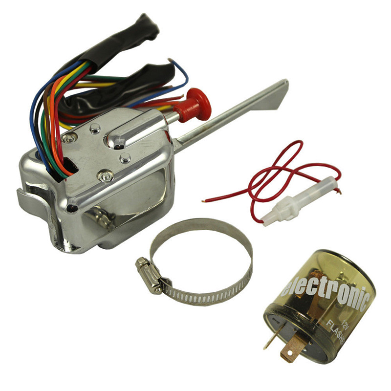 online get cheap hot rod wiring aliexpress com alibaba group universal street hot rod turn signal chrome switch 7 wires and a wiring diagram for