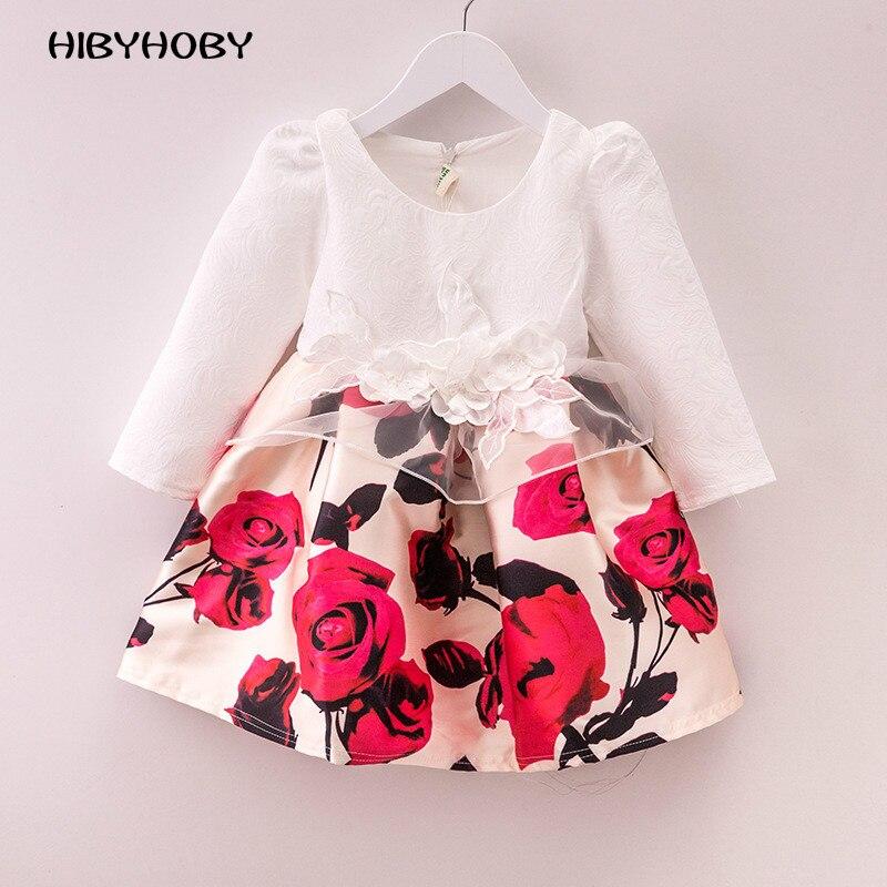 Hibyhoby Baby Girl Clothes bloemenprint Mouwloze meisjes Zomer casual - Kinderkleding - Foto 1