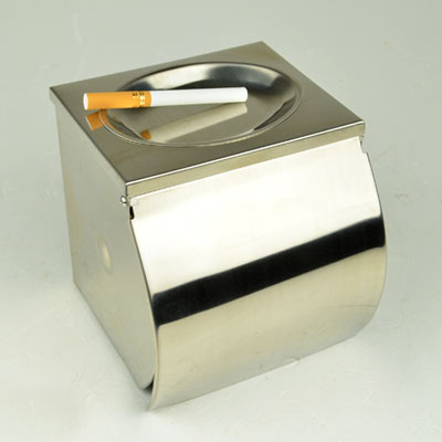Modern Stainless Steel Chrome Toilet Paper Tissue Roll Holders Box