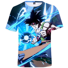 Dragon Ball 3D short sleeves T Shirts Mens 2019 Summer new Fashion  O-Neck Print Brand Japanese Anime tshirt Casual Tops