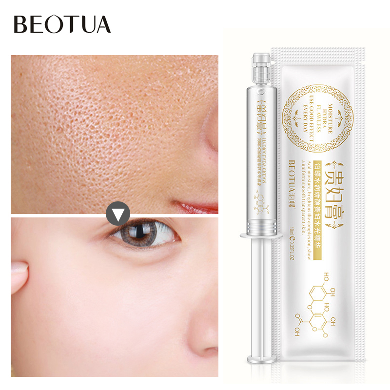 Hyaluronic Acid Shrink Pore Face Serum Anti Aging Lifting Firming Anti Wrinkle Moisturizing Whitening liquid Smear Skin Care in Serum from Beauty Health
