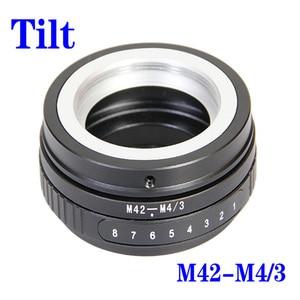 Image 5 - Foleto Tilt M42 Screw Mount Lens adapter ring M42 NEX M42 FX M42 M43 To for EOS M FUJIFIM Panasonic sony NEX E NEX7 NEX 5 camera