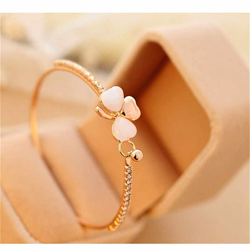 2019 New Hollow Cuff Bracelets Trendy Gold Silver Color Geometric Adjustable Bangles For Women Fashion Gift