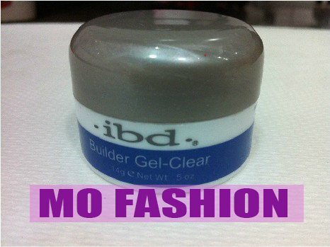 good!! 14 g / 0.5 oz AMAZING free shipping 5pcs/lot Acrylic Nail Art UV Gel  ibd Builder CLEAR
