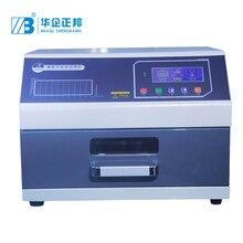 באיכות גבוהה אינפרא אדום תנור Reflow SMT הלחמה מכונת עבור PCB הרכבה קו ZB2520HL PCB Reflow תנור