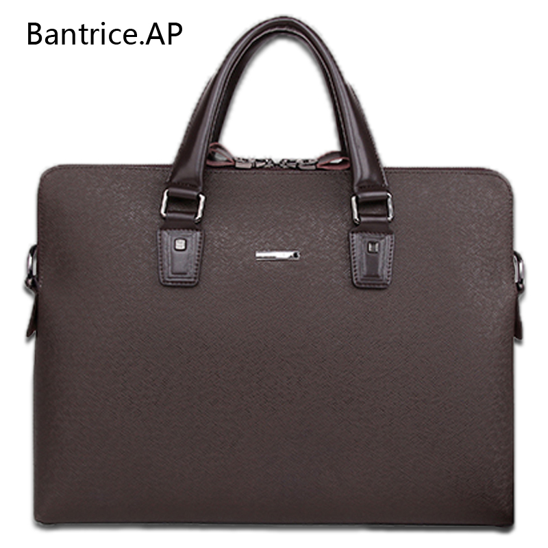 New High Quality Male Leather Men Laptop Briefcase Bag 14 Inch Computer Bags Handbag Business bag Single shoulder business bags new high quality leather men laptop briefcase bag 14 inch computer bags handbag business bag fashion laptop handbag for men