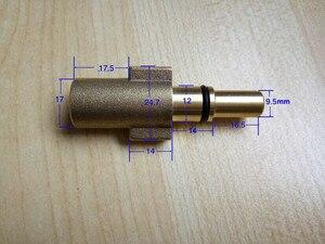 Image 3 - 100% bakır araba yıkama köpük tabancası siyah katlı BS AQT konektörü yüksek basınçlı yıkayıcı köpük jeneratörü kar kabarcık köpürtücü köpük