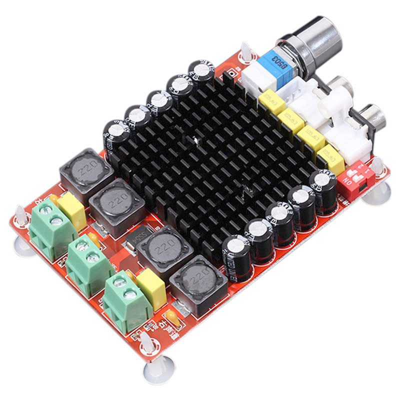 TDA7498 Klasse D Digital Verstärker Bord Verstärker Audio amplificador 2x 100 W Dual Channel Audio Stereo AMP