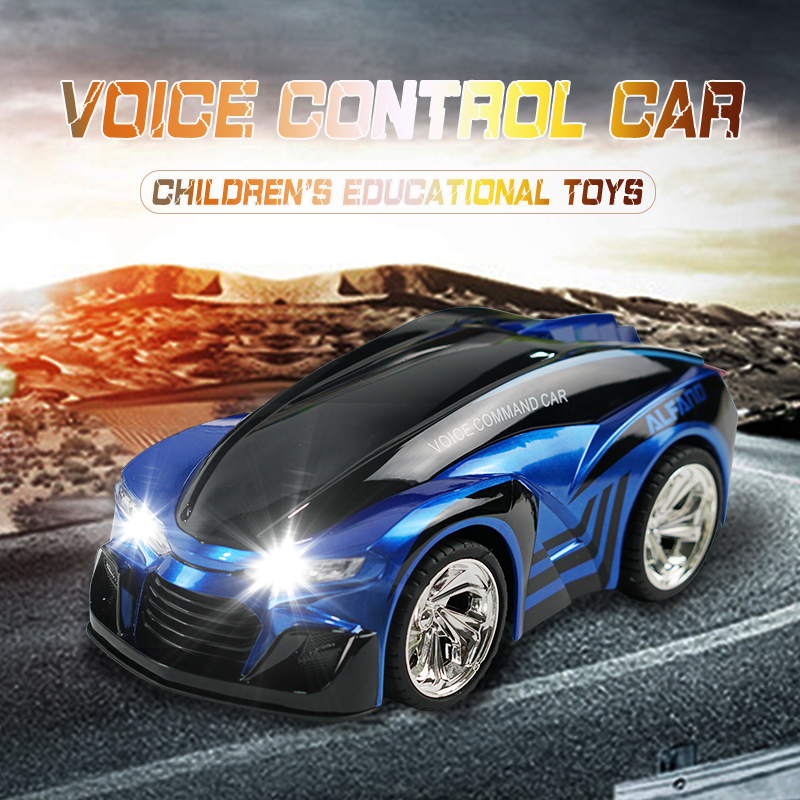 Kid Toys Voice Remote Control Car with Smart Watch DIY Mode Voice-Activated rc Car Watch Drift Car Electric