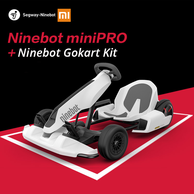 Original Ninebot Gokart Kit Refit Smart Self Balancing Electric Scooter Xiaomi Mini Ninebot by Segway Mini Pro Racing Go Kart