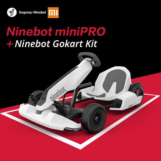 Original Ninebot Gokart Kit Refit Smart Self Balancing Electric Scooter Xiaomi Mini Ninebot by Segway Mini Pro Racing Go Kart