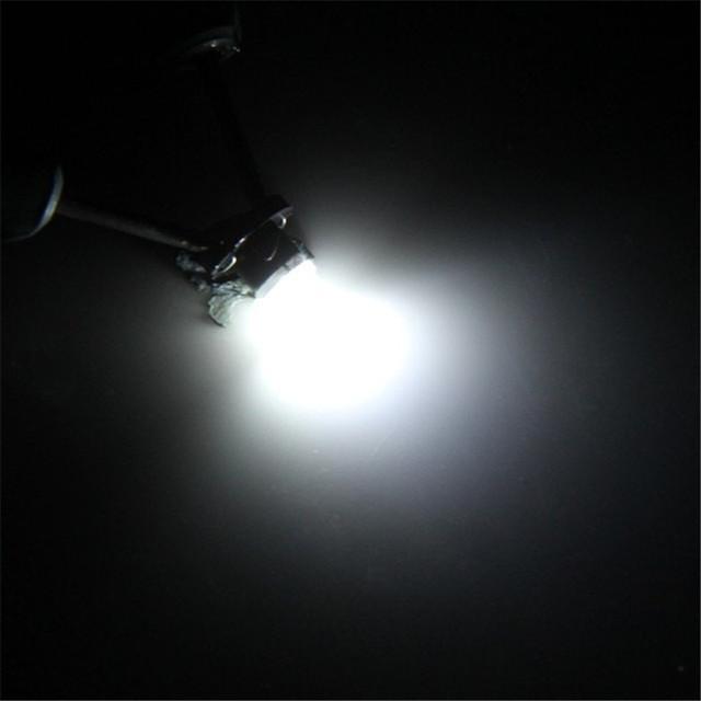 Practical Sencart T4.2 White Light 2 LEDs Car Instrument Light 2pcs DC 12V Auto Dashboard Gauge Lights Signal Bulbs for Vehicle