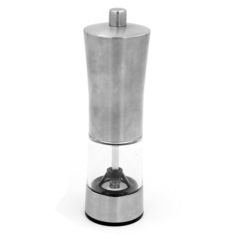 Измельчитель для перца из нержавеющей стали кухонные аксессуары солонка ручная шлифовальная бутылка для специй инструменты для приготовления пищи