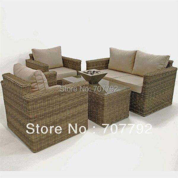 Winchester Square Corner Group Rattan Sofa Set