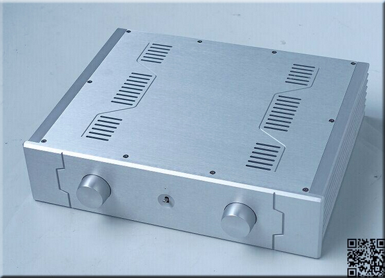 amp case size:430*105*340mm BZ4310C Full aluminum amplifier chassis/Merge/Pre-amplifier/AMP Enclosure/DIY amplifier case/DIY box wa19 aluminum chassis pre amplifier chassis enclosure box 313 425 90mm