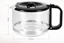 coffee maker part  IR8l71 household drip Coffee machine accessories 0.6L hand hold cafe pot coffee glass TEA pot coffee machine household fully automatic drip coffee maker tea coffee pot coffeemaker