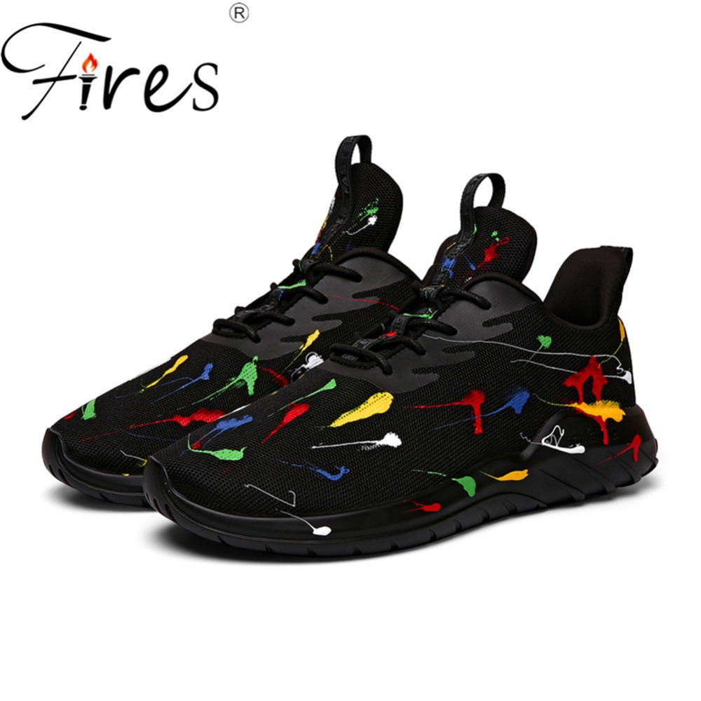 Fires Women's Running Shoes Plush Lining Outdoor Sneakers Couple Mesh Jogging Shoes Unisex Breathable Outdoor Sports Shoes