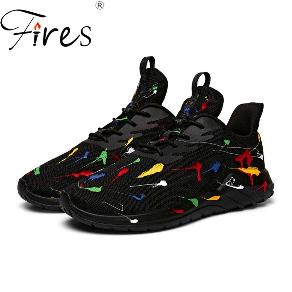 Incêndios Tênis Tênis de Corrida das Mulheres forro de Pelúcia Ao Ar Livre Casal Malha Sapatos de Corrida Unisex Respirável Sapatos Esportes Ao Ar Livre