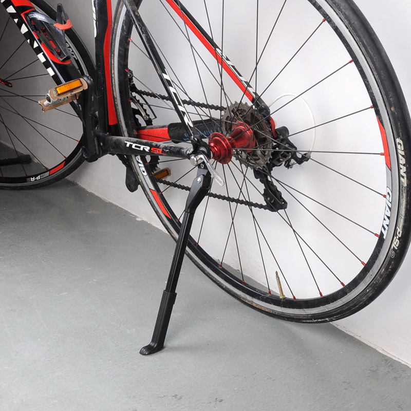 Aluminium Alloy For Bicycle Rack Kick lightweight Stands Bike Adjustable Kickstand Side Stay MTB Roa