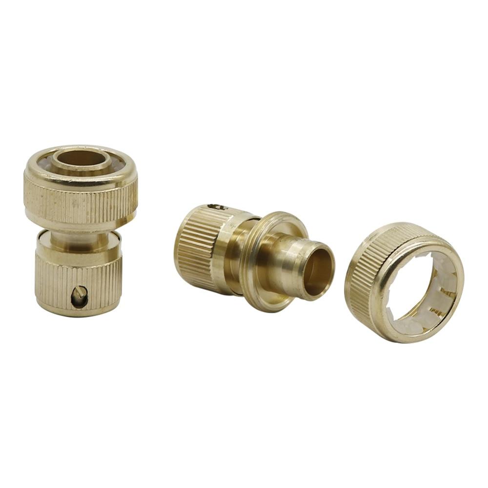 Brass 3 4 Water Hose Connector Gun Pipe Garden Irrigation Watering