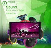Универсальный 7 polegada Android сенсорный 2Din моторизованный цифровой водить автомобиль DVD плеер с 3 г/wif Bluetooth + t V + USB SD